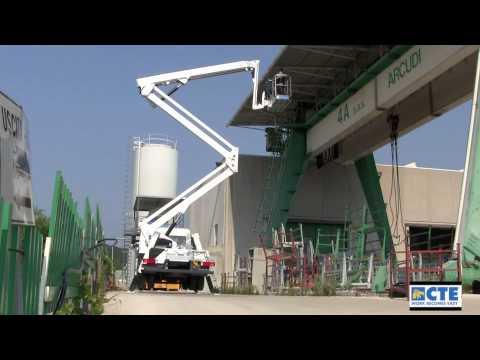 Articulated truck-mounted platform ZED 29 JH