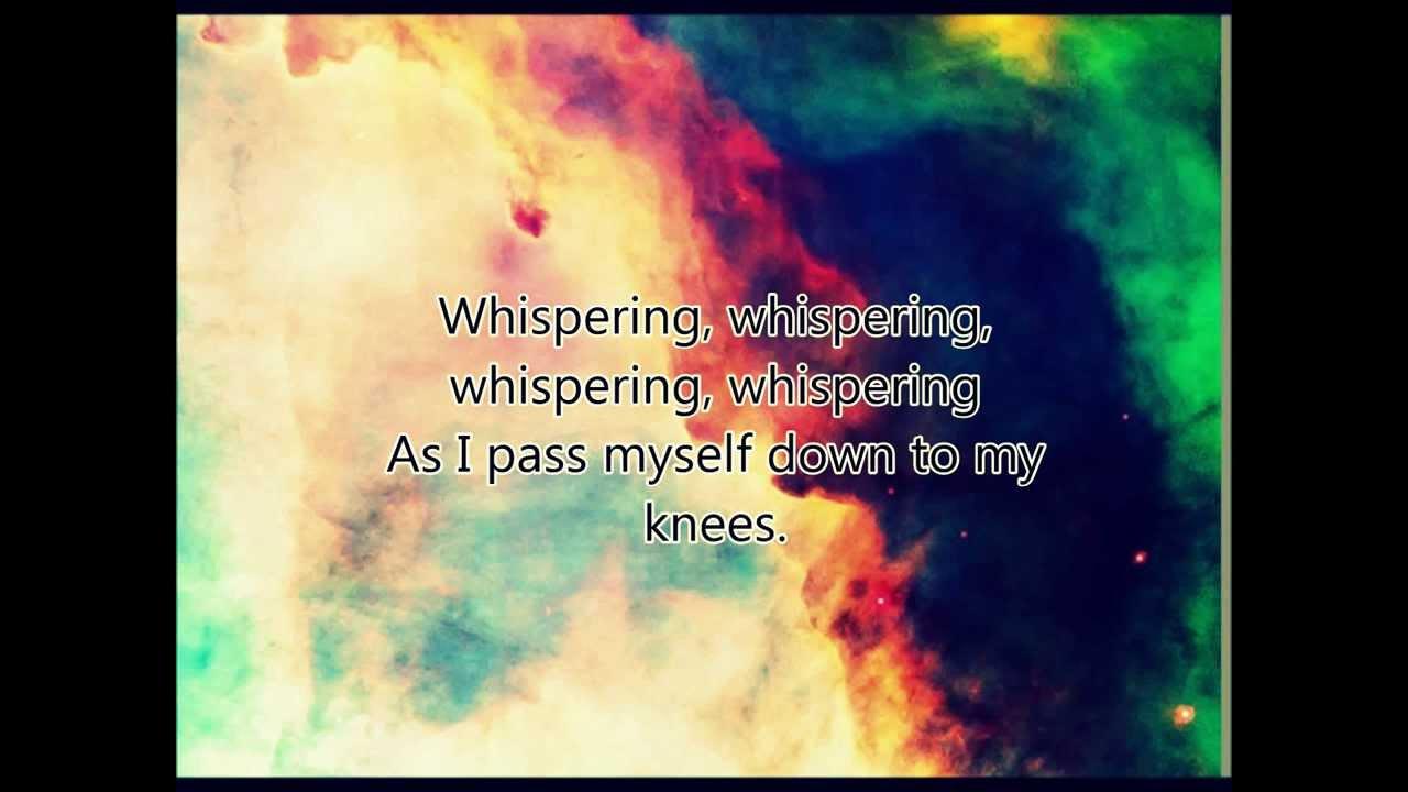 Alex Clare-Whispering (lyrics) - YouTube
