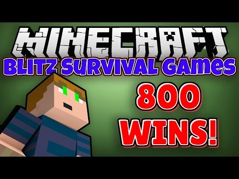 Minecraft: Blitz Survival Games - 800 Wins! (Hypixel.net)