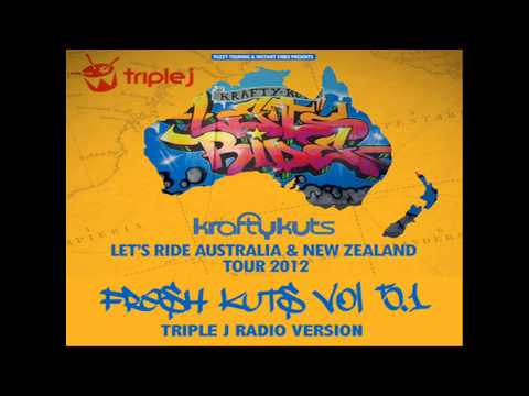 Krafty Kuts - Fresh Kuts - Volume 5.1 - Triple J Radio Mix 2012