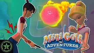 MY BACK! - 3D Ultra Mini Golf Adventures - Matt's Maps March | Let's Play