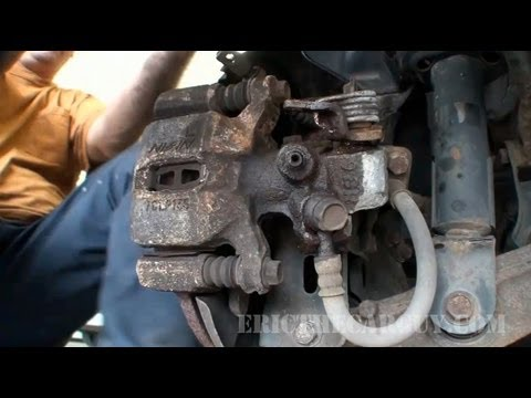 How To Replace A Rear Caliper, 93 Acura Integra - EricTheCarGuy