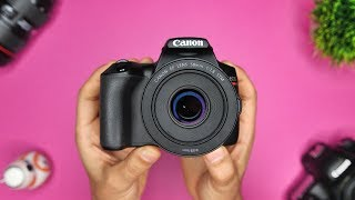 02. Canon SL3 (200d MK II / 250D) Tutorial: Beginner's User Guide - Buttons, Dials and Modes