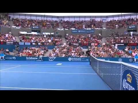 2014 Tennis Tournament Lleyton Hewitt v Kei Nishikori - Full Match Men's Singles Semi Fina