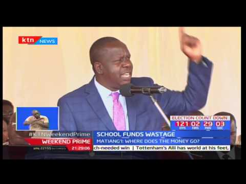 Fred Matiangi says government will audit all public schools on expenditure of free primary education