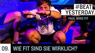 Faul wird fit #9 - Wie fit sind die beiden wirklich? | Beat Yesterday
