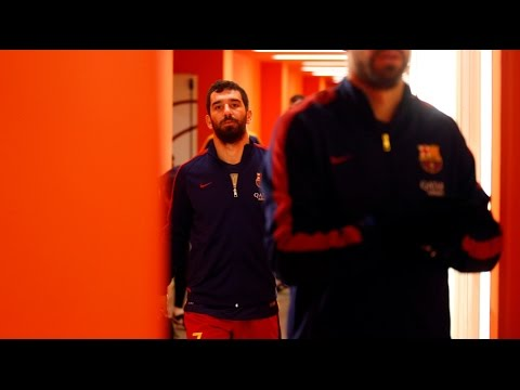 BEHIND THE SCENES - Arda and Aleix make their FC Barcelona debuts