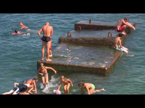 Russia,Crimea,Yalta, Massandra beach
