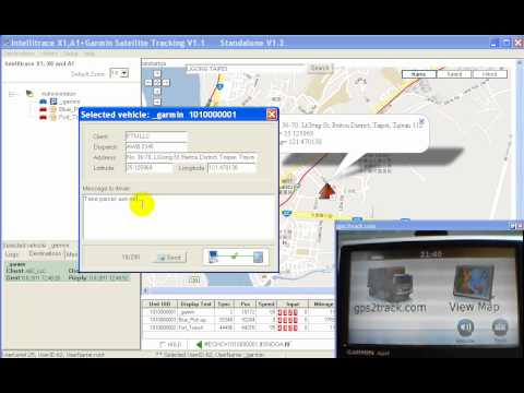 Free Fleet Management & Dispatching/ Free GPS Tracking Software For Garmin+A1 (Windows-desktop)