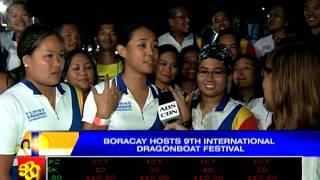 Boracay hosts 9th International Dragon Boat Festival