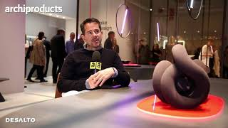 Salone del Mobile.Milano 2018 | DESALTO - Gordon Guillaumier talks about the table Lake