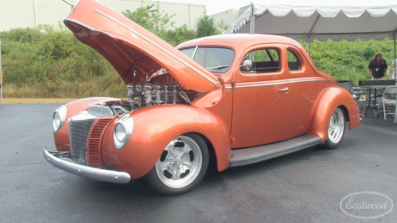 Street Rodder Magazine >> 1940 Ford Street Rodder Car & Jerry Dixey at the Eastwood ...