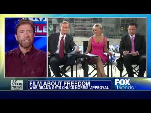 Chuck Norris on FOX & Friends (Sept. 2012)
