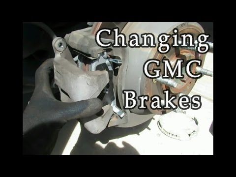 How to change brake pads on a SUV (GMC Envoy)