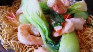 TASTY PAN FRIED CRISPY NOODLE