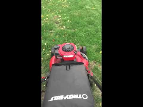 First lawn care video