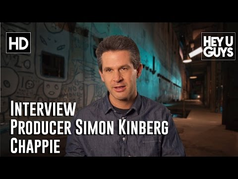 Producer Simon Kinberg Interview - Chappie