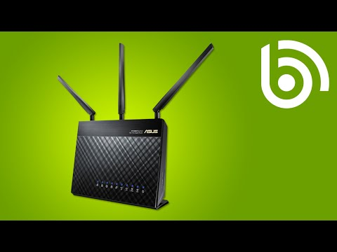 ASUS RT-AC68U AC1900 Dual-Band Wireless-AC Broadband Router Overview