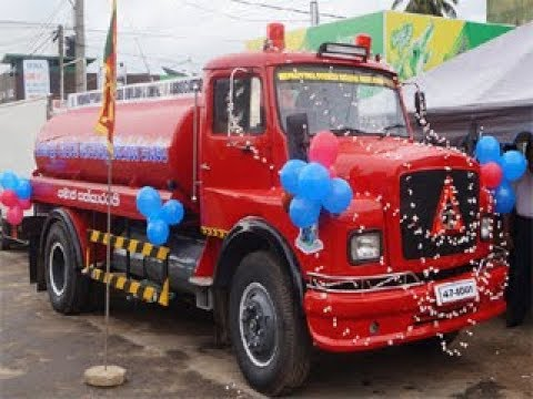 Opening of the Fire truck at Wennappuwa