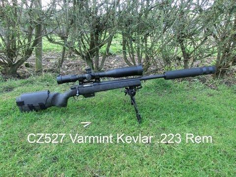 CZ527 .223 Remington Varmint Kevlar Review
