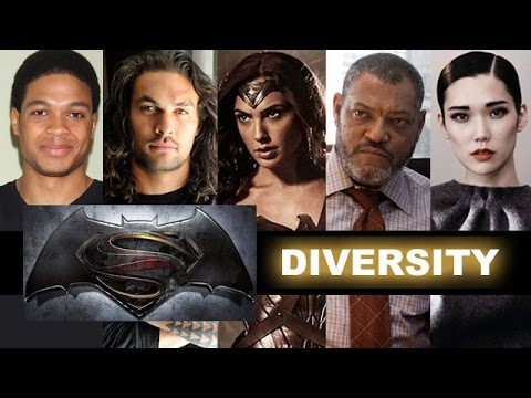 Batman v Superman 2016, Aquaman, Cyborg, Mercy Graves - Beyond The Trailer