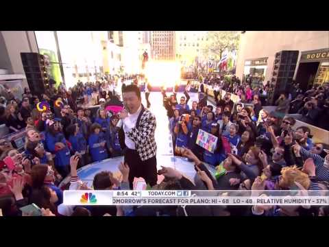 [psy - Gangnam Style] - [nbc - Today Show - May 3 2013] video