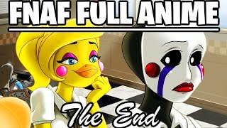 FNAF ANIME ALL EPISODES + GAME ENDING - Five Nights at Freddys Ultimate Custom Night