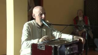 2013.05.03. Kirtan before SB lecture HG SDA Klaipeda, Lithuania