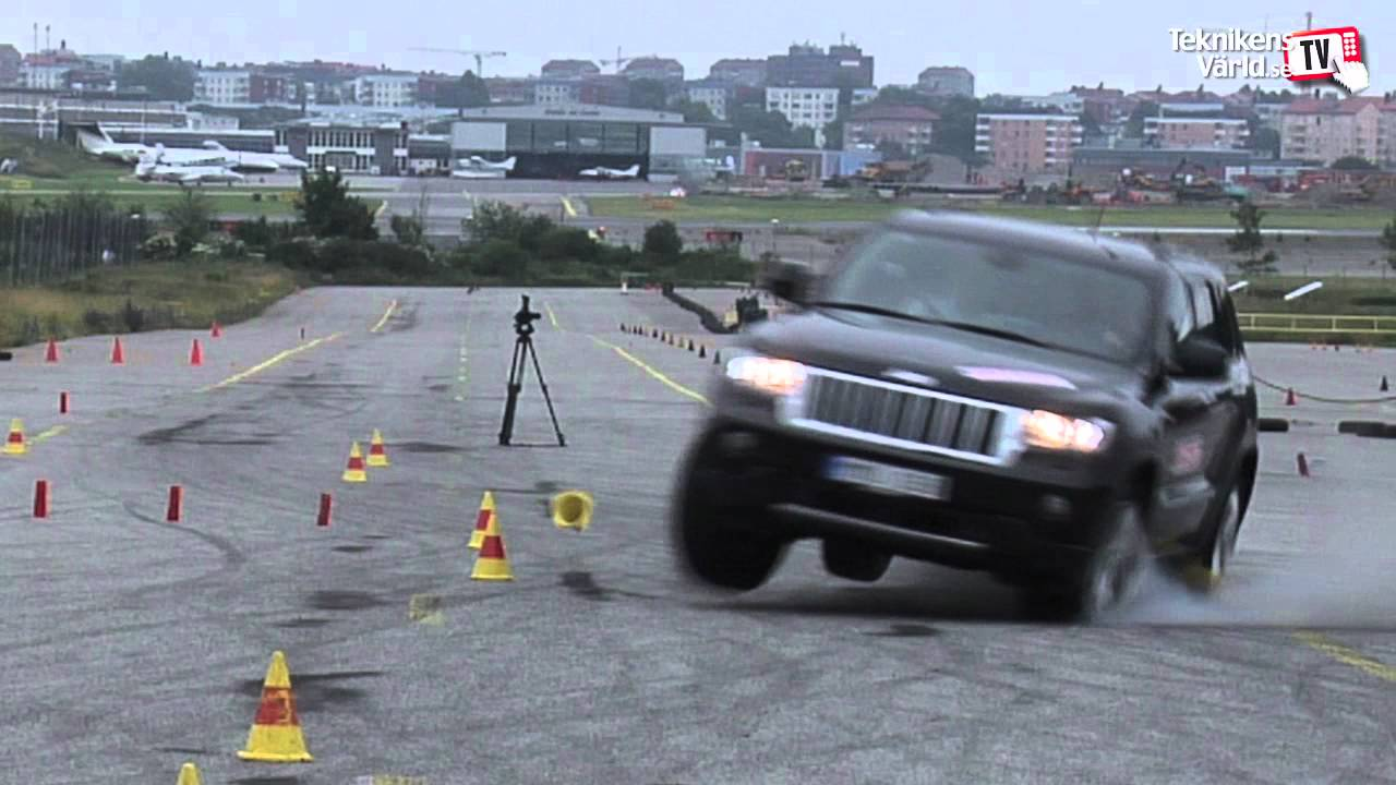 Jeep Grand Cherokee Moose Test The Full Story Youtube