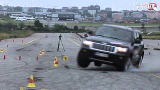 Test with Volvo XC90, VW Tuareg and Jeep Grand Cherokee