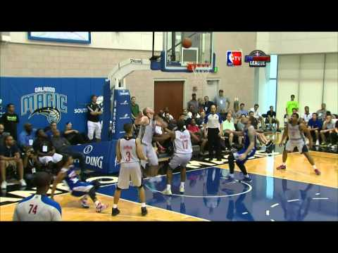 Top 10 Plays of the 2014 Orlando Summer League