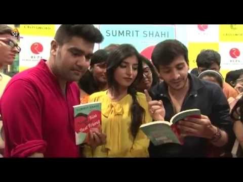 Param & Harshita Book Launch 'Never Kiss Your Best Friend' !!!