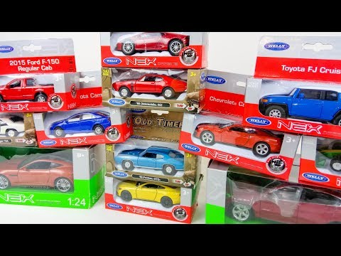 Unboxing new cars for kids | Sports and Racing Cars | Video about vehicles for children