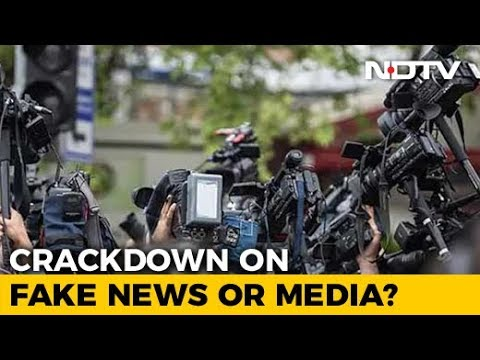 Outrage Over Centre's Rules For Journalists To Check Fake News
