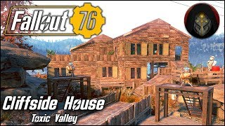 CLIFF-SIDE HOUSE (Toxic Valley) | Fallout 76 - C.A.M.P. Building Guide