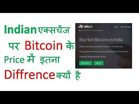 INDIAN एक्सचेंज पर BITCOIN के PRICE  में इतना DIFFRENCE  क्यों है ? By Global Rashid in Hindi/Urdu