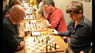 Norwegian Championship: Magnus Carlsen vs Atle Groenn: 2005