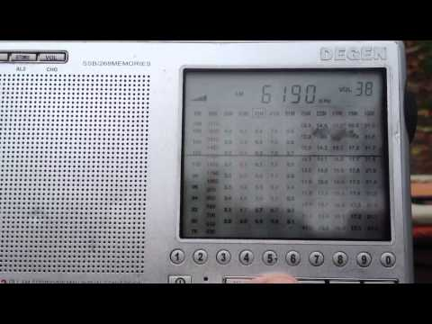 MV Baltic Radio/ HHLR TEST on 6190khz
