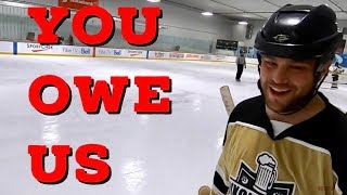 Hey Stripes! The Micd Up GoPro Hockey Ref - Game 267 - You Owe Us