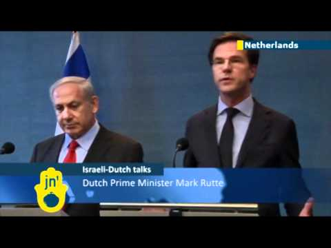Dutch and Israeli settlement dispute: Prime Ministers Mark Rutte and Benjamin Netanyahu can't agree