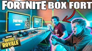 ULTIMATE FORTNITE GAMING BOX FORT 📦🎮 Fortnite, Gameplay & More!