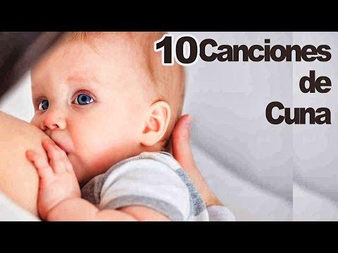 Canción de Cuna ? 10 Canciones de Cuna para Dormir Bebés ? Con Letra ? Nanas ?#