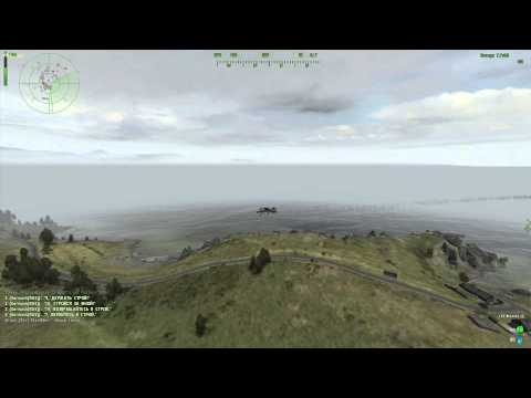 ArmA 2 Wasteland 2й полет на БПЛА Пчела