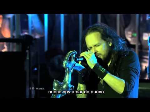Korn - Never Never Live Subtitulos En Español video