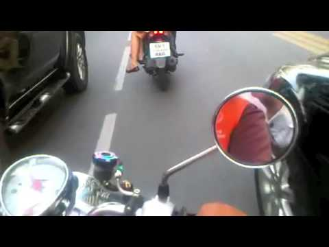 Bangkok Bike Taxi Ride .mov