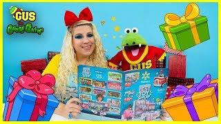 Walmart Holiday Catalog Reveal !! Surprise Toys + Spinning Wheel!