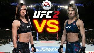 UFC 2 - Michelle Waterson vs Felice Herrig
