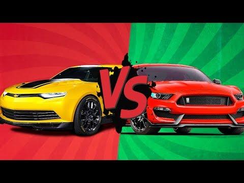 КАМАРО VS МУСТАНГ: Битва титанов! Camaro VS Mustang EPIC battle!