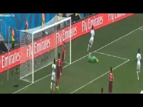 Portugal vs Ghana 2 1 All Goals & Full Highlights HD 720p ~World cup 2014   YouTube