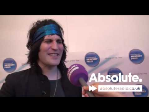 Noel Fielding at the Mercury Prize 2009